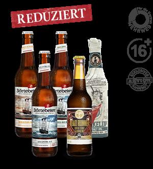 Störtebeker Paket für Online-Verkostung Alkoholfreie Biere